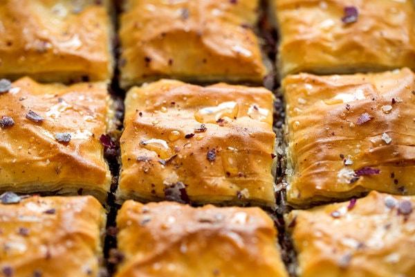 کندی تین - محصول پدیده شیرین - باقلوا کم کالری